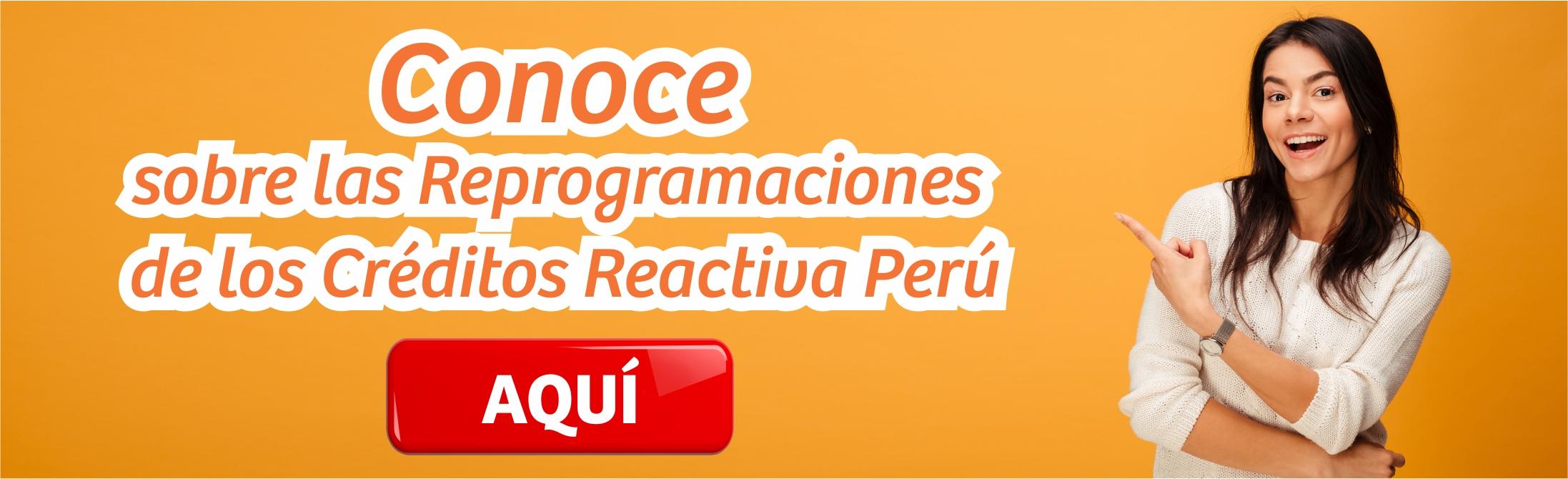 Reprogramaciones Reactiva Perú